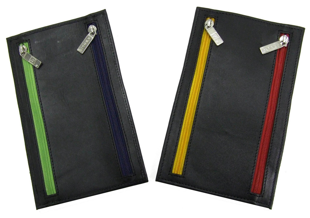 Ashlin® DESIGNER | COLORADO 4 Zippered Currency Wallet 751-07-01