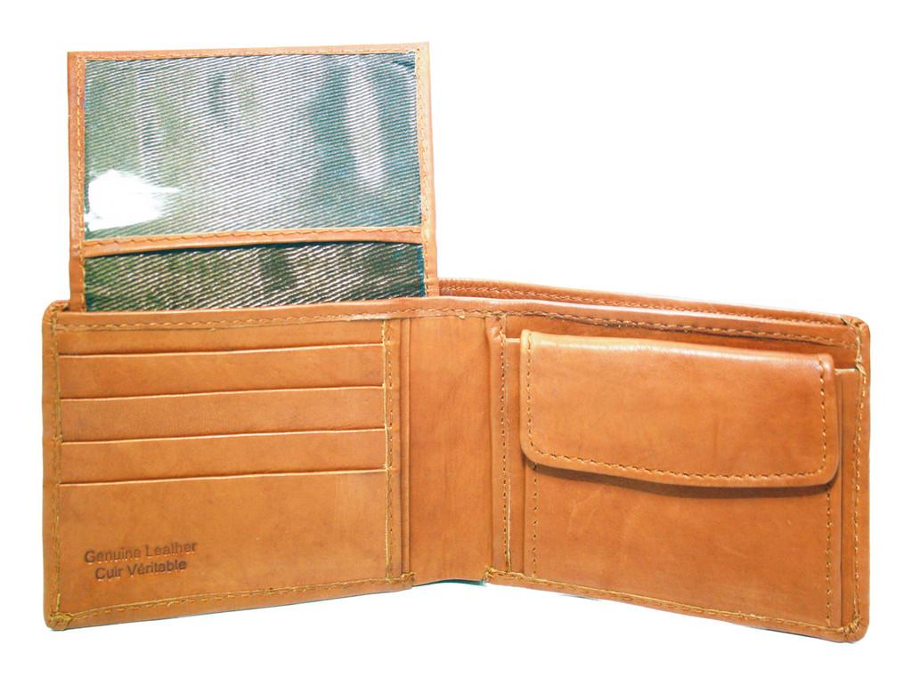 Ashlin® DESIGNER | ALONSO Mens 9 Pocket Wallet with Flip-Up Section | Tuscany cowhide | [7739-18]