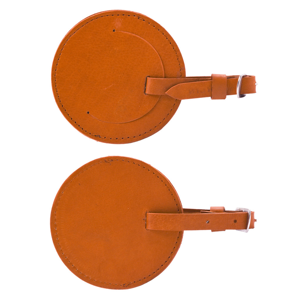 Ashlin® DESIGNER | TENZING Round luggage tag - 35 inch TAG88-18-08 BASE 2