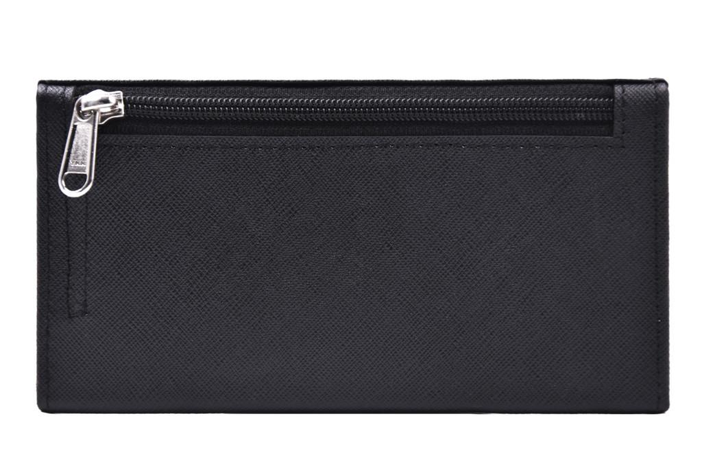 Ashlin® DESIGNER   REDGROVE RFID Blocking Ladies Slim Clutch Wallet      [RFIDL5910-52]