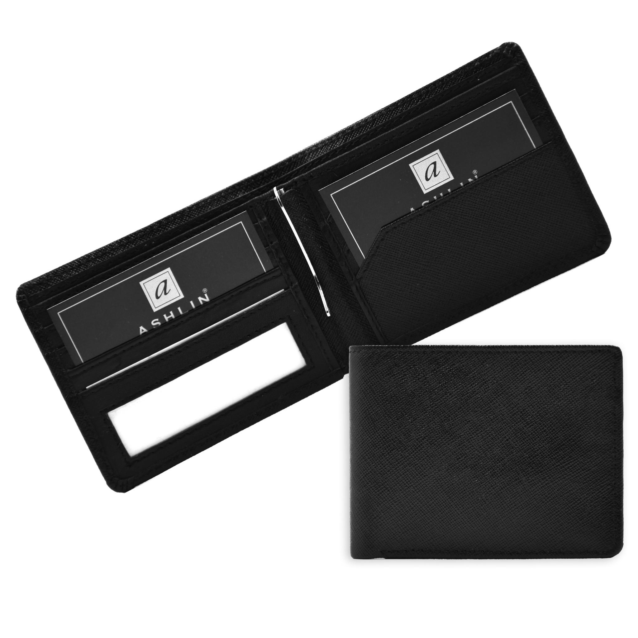 458fba7d479b Ashlin® DESIGNER | TRENCH 6 card Bi-Fold Money Clip Wallet | [7766 ...