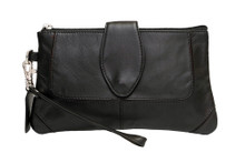 Tuscany Cowhide - Black - Front