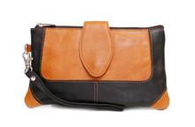 Ashlin® DESIGNER | NATASHA Mid sized Wristlet Smart Phone Cosmetics | Tuscany cowhide | [B9104-18]