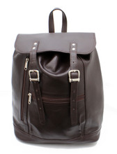 Ashlin® DESIGNER | JESSY Zippered Compartment Backpack | Tuscany cowhide | [B8145-18]