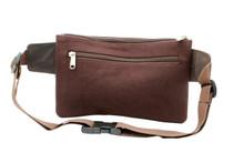 Ashlin® DESIGNER | TRENTON Unisex Waist Wallet | Eco friendly cotton canvas | [W4005-ECC]