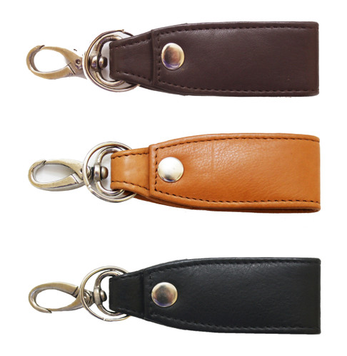 Home and Office - Key Chains and Fobs - ASHLIN LEATHER