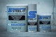Steel-It Grey 1002 Polyurethane Anti-Rust Aerosol Coating Weather, Abrasion And Corrosion Resistant