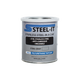 Steel-It Grey 1002 Polyurethane Anti-Rust Coating Weather, Abrasion And Corrosion Resistant - Quart