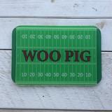"""Woo Pig"" Glass Cutting Board"