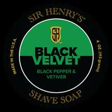 Black Velvet Shaving Soap