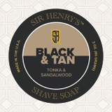 Black & Tan Shaving Soap