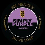Simply Purple Shaving Soap