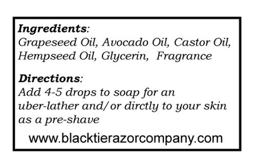 Shave Oil - An Affair
