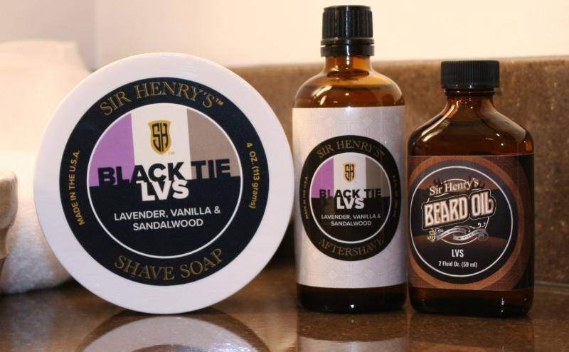 Sir Henry's Black Tie LVS