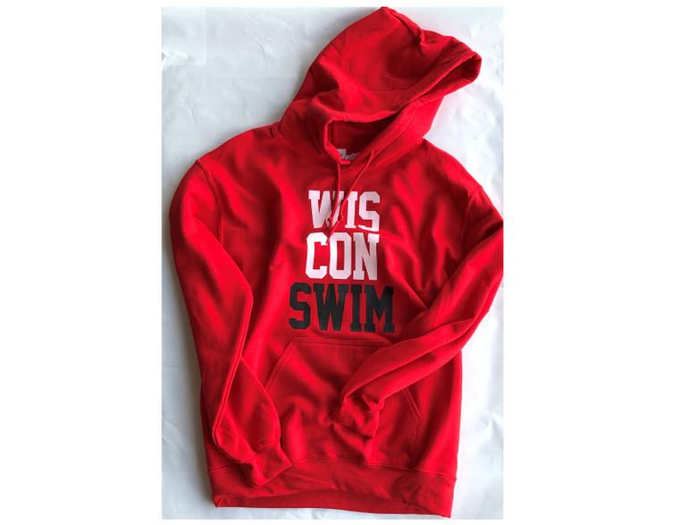 WISCONSWIM Hooded Sweatshirt