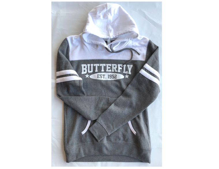 Butterfly Two-Tone Sweatshirt