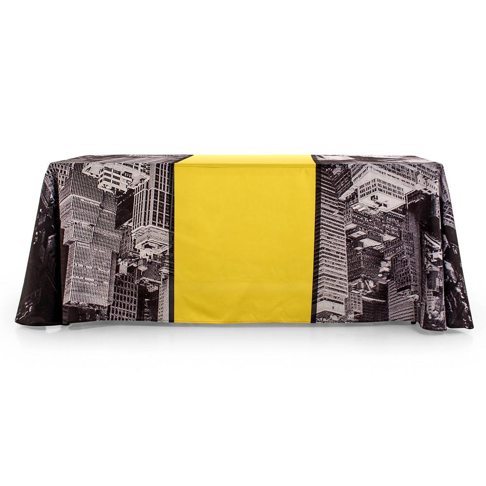 4-Sided Closed-Back Edge to Edge Custom Printed Tablecloth