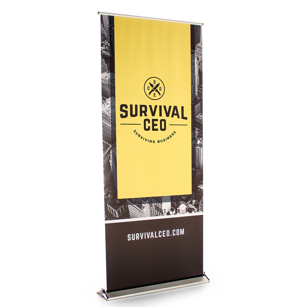 BLADE - 36 Inch Wide Retractable Banner Display