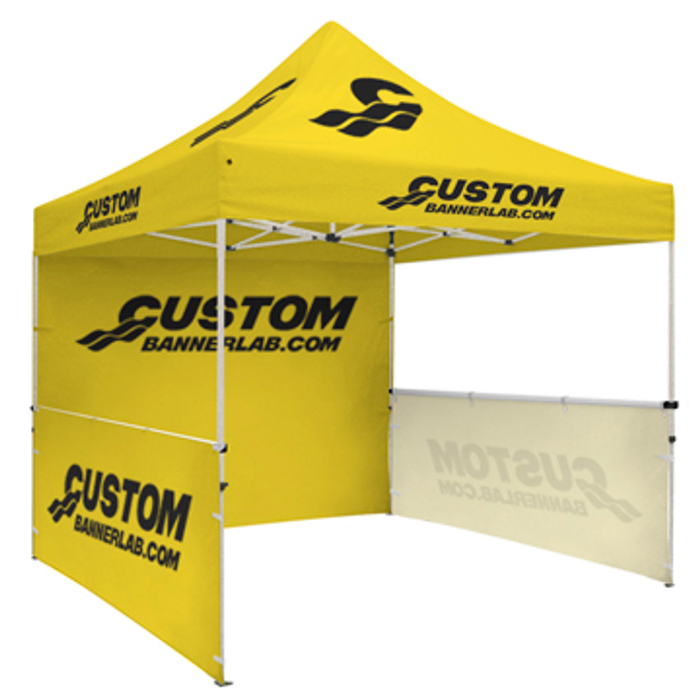 Custom Full Color Dye Sublimated Full Tent Wall