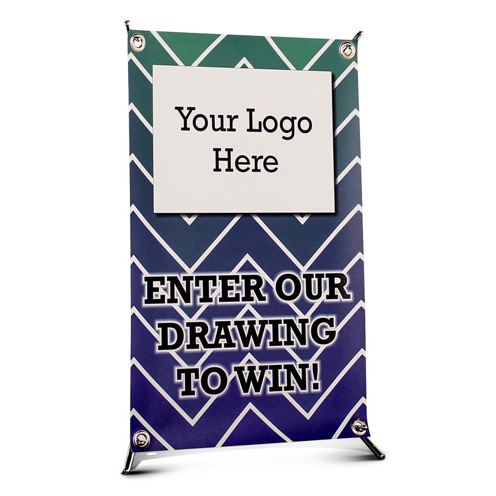 Custom Mini Banner Tabletop Display