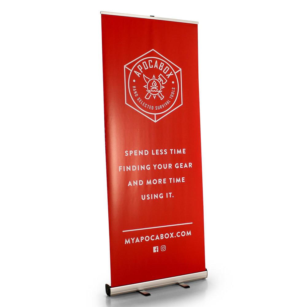 Premium 33.5 Inch Retractable Banner