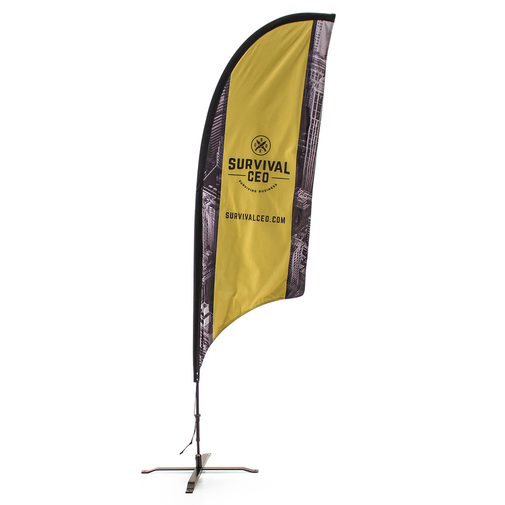 Concave Razor Feather Flag
