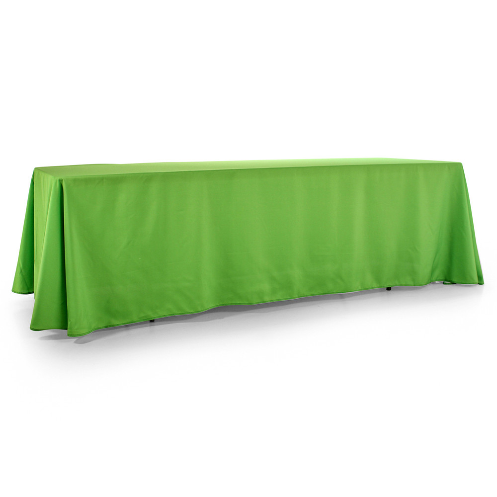 8-Foot Wide Blank Tablecloth