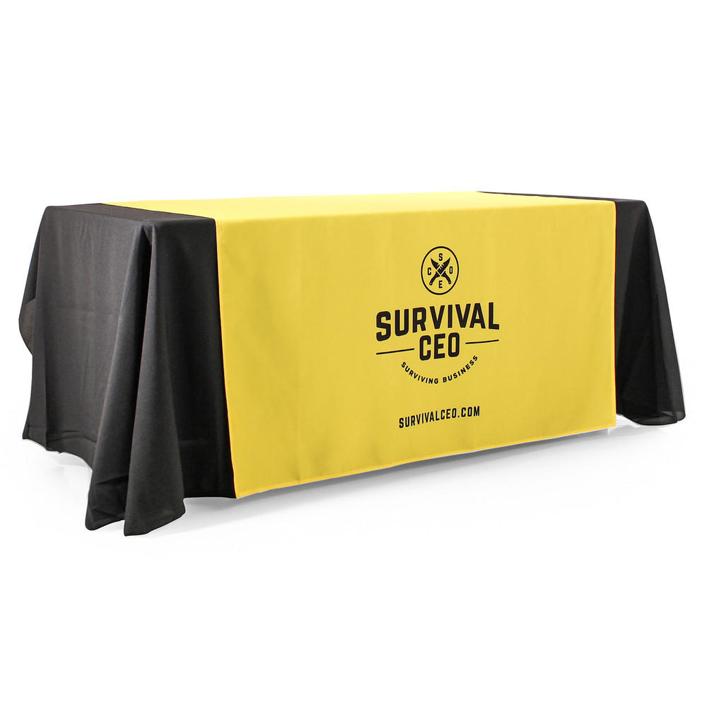 "57"" Wide Runner (shown on 6-Foot wide tablecloth)"