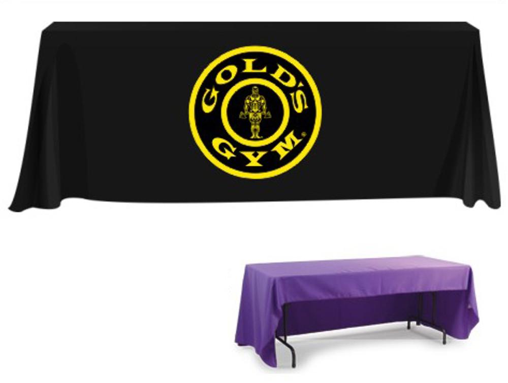 Custom Printed Tablecloth with Logo