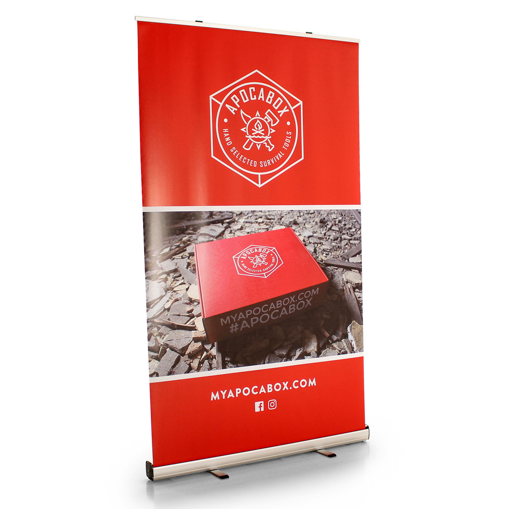 Economy Value Pull Up Retractable Banner Display 47 Inch
