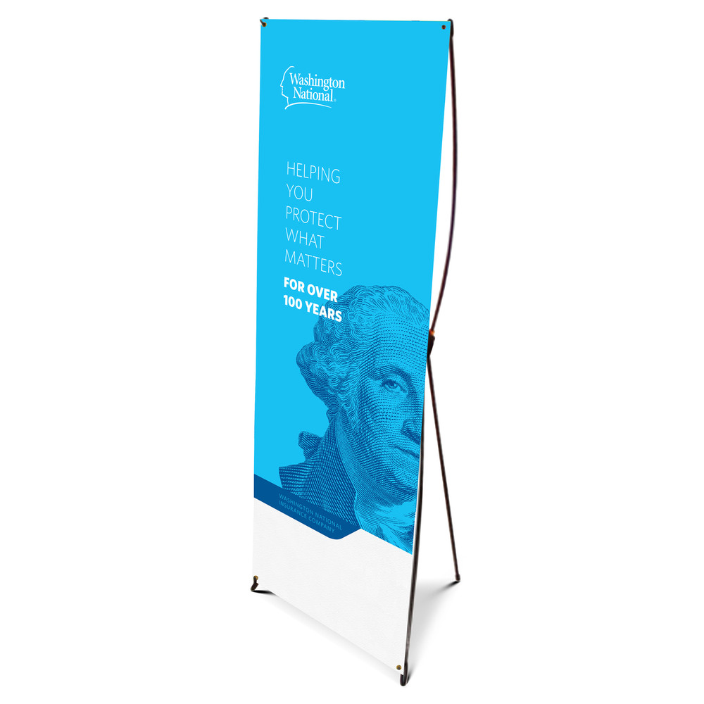 Washington National Brand Bannerstand