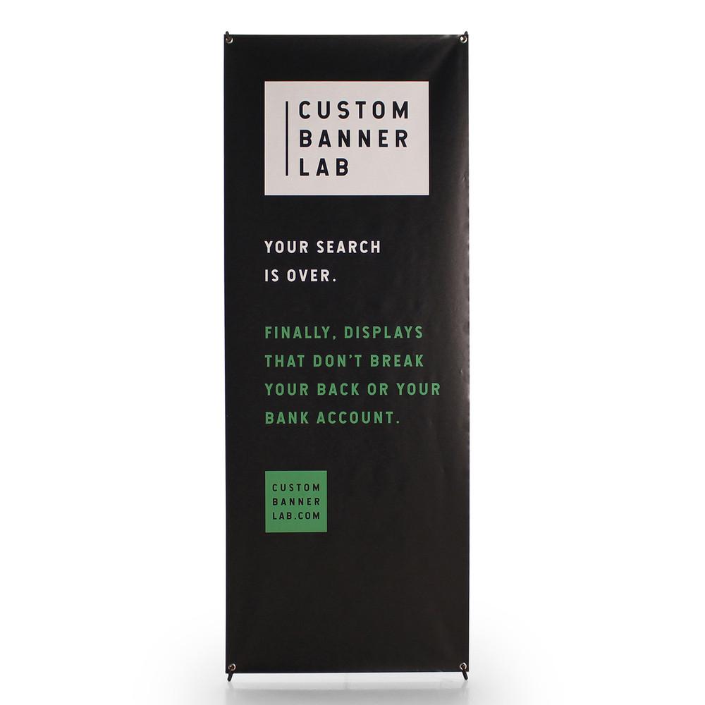 Super X Banner Display No. 2