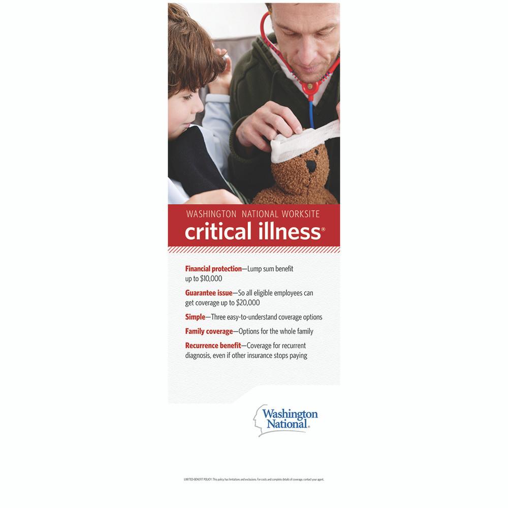 Worksite Critical Illness Bannerstand