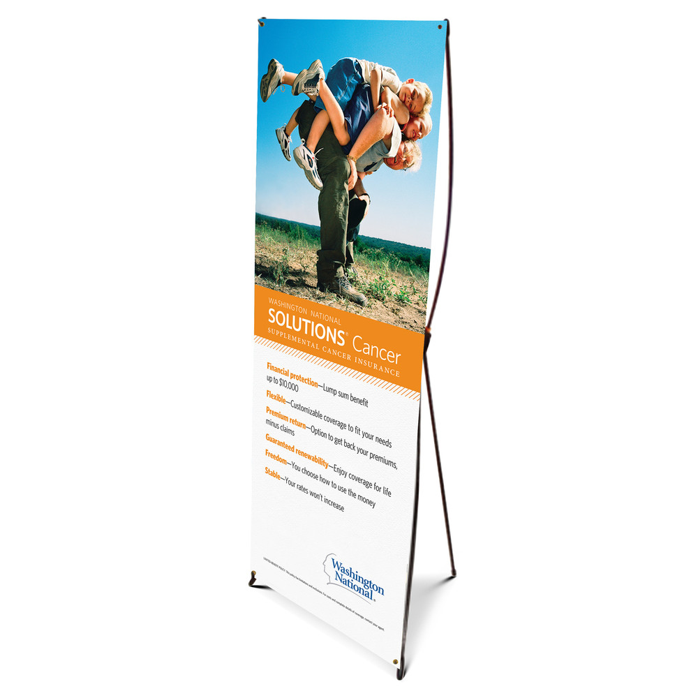 Solutions Cancer Bannerstand