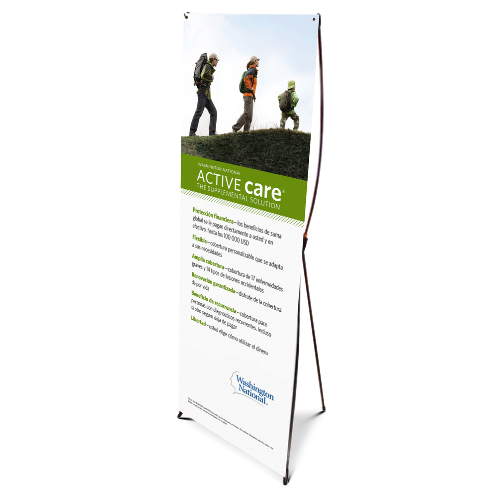 Active Care Bannerstand - SPANISH