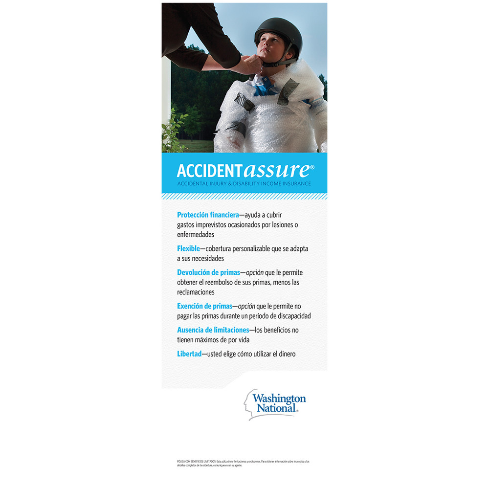 Accident Assure Bannerstand - SPANISH