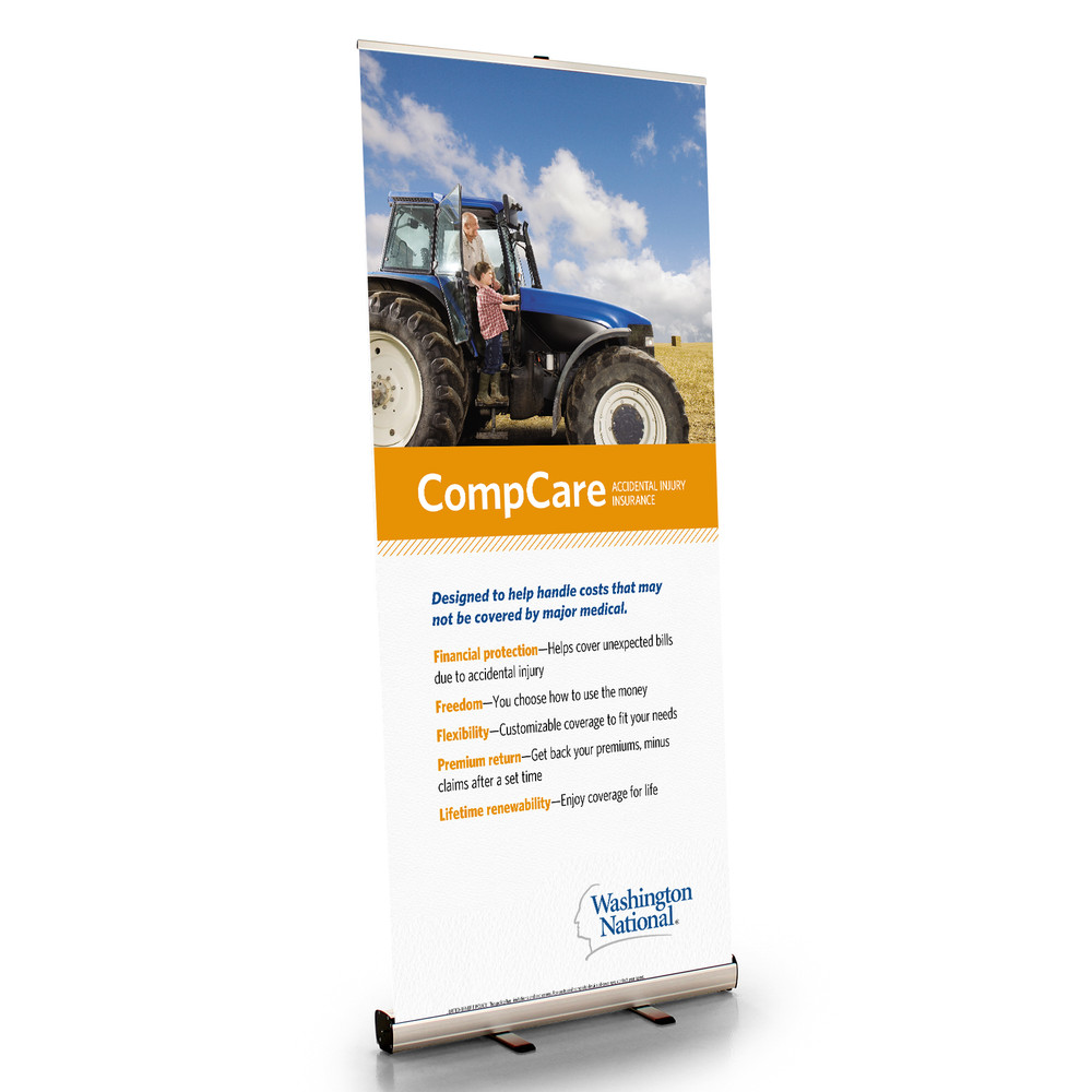 CompCare Retractable Bannerstand