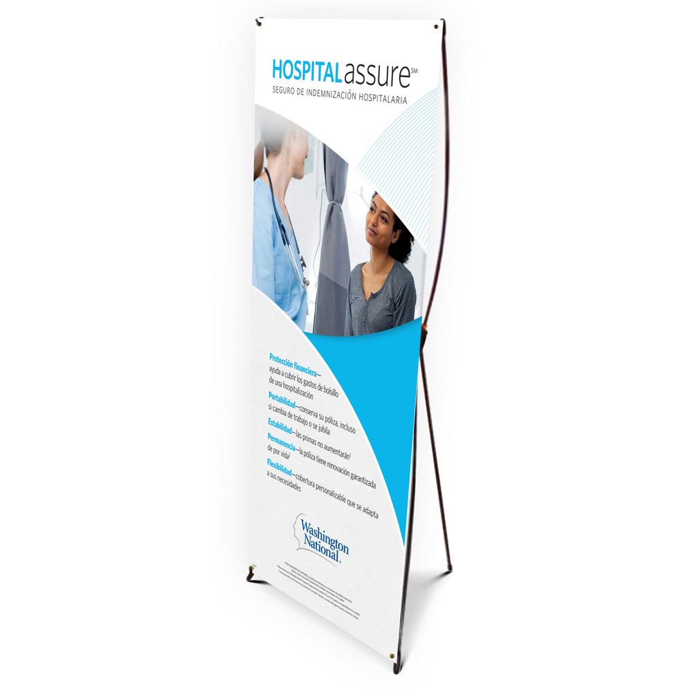 Hospital Assure (CONSUMER) Bannerstand - SPANISH