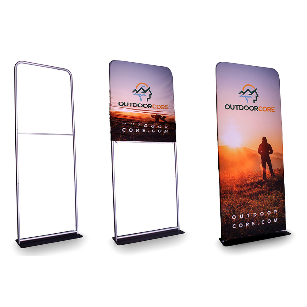 SKYTALL - 36 Inch Wide Fabric Banner Display