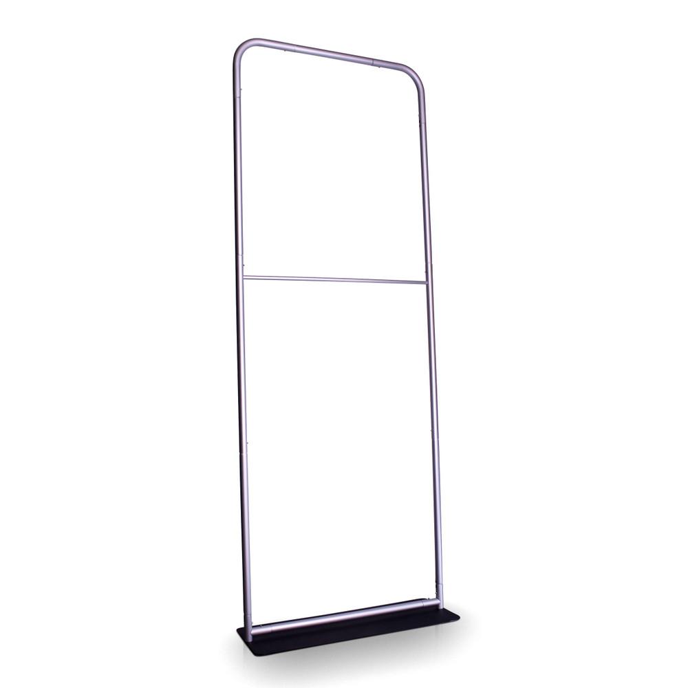 Easy to assemble aluminum tubular frame.