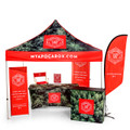 Custom Dye Sublimated Edge-to-Edge Printed Event Tent