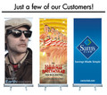 Retractable Display Sign- examples
