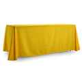4-Sided Closed-Back BLANK Tablecloth