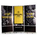 3-Banner 8.5 Foot Wide Trade Show Back Drop