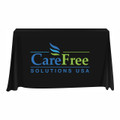 CareFree Solutions 3 Sided Open-Back Tablecloth