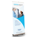 Hospital Assure Retractable Bannerstand