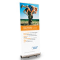 Solutions Cancer Retractable Bannerstand