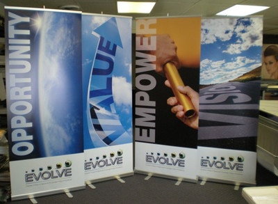 Replacement Graphic for Retractable Banner Display