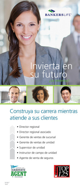 Bankers Life College Recruiting Career Paths Spanish Retractable Banner Display