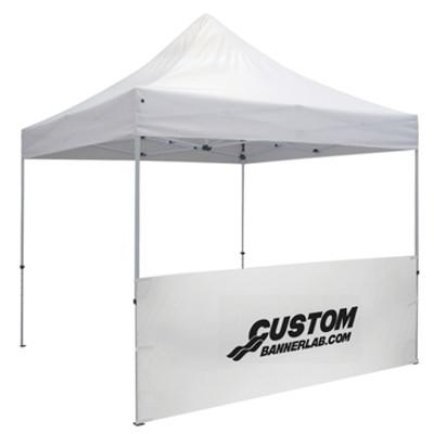 Custom Logo Printed Tent Half Wall